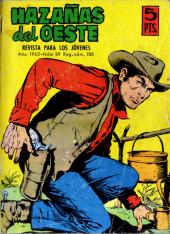 Hazañas del Oeste -89- Número 89