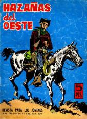 Hazañas del Oeste -91- Número 91