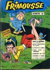 Frimousse et Frimousse-Capucine -Rec28- Album N°28 (du n°154 au n°158)
