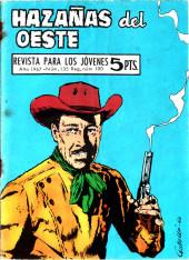 Hazañas del Oeste -135- Número 135