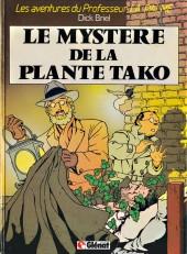 Professeur La Palme (Les aventures du) -1- Le mystère de la plante Tako