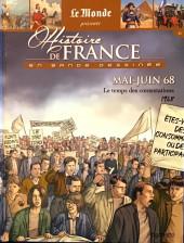 Histoire de France en bande dessinée -59- Mai-Juin 68 le temps des contestations 1968