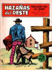 Hazañas del Oeste -150- Número 150