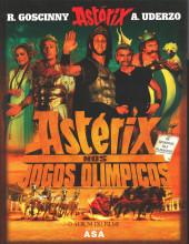Astérix (hors série) (en portugais) -C07- Astérix nos Jogos Olímpicos - O álbum do filme