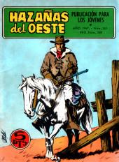 Hazañas del Oeste -151- Número 151
