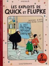 Quick et Flupke -3- (Casterman, couleurs) -5- 5e série