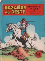 Hazañas del Oeste -191- Número 191