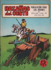 Hazañas del Oeste -199- Número 199