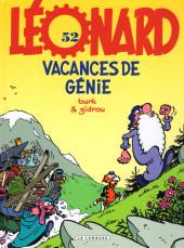Léonard -52- Vacances de génie