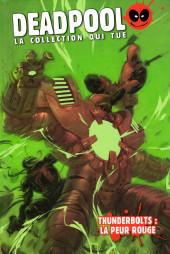 Deadpool - La collection qui tue (Hachette) -5268- Thunderbolts : la peur rouge