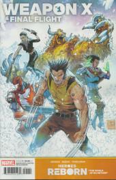 Heroes Reborn: Weapon X & Final Flight -1- Issue #1