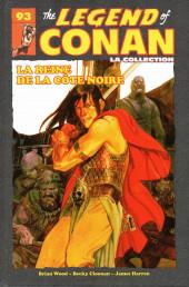 The savage Sword of Conan (puis The Legend of Conan) - La Collection (Hachette) -9318- La Reine de la Côte Noire