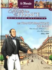 Histoire de France en bande dessinée -45- Les transformations de Paris, des travaux d'Haussmann à la ville lumière 1852-1900