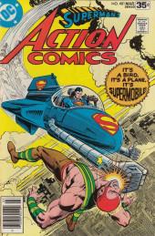 Action Comics (DC Comics - 1938) -481- It's a Bird... It's a Plane... It's Supermobile!