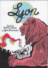 Lyon - Carnet de souvenirs dessinés par Julie Rocheleau