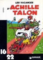 Achille Talon (16/22) -214a- Les vacances d'Achille Talon