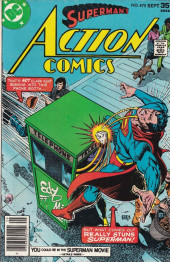 Action Comics (DC Comics - 1938) -475- The Super-Hero Who Refused to Hang Up His Boots!