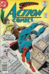 Action Comics (DC Comics - 1938) -469- The Night Superman Was Buried in Boot Hill!