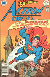 Action Comics (DC Comics - 1938) -467- Stop It, Superman! You're Wrecking the World!