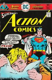 Action Comics (DC Comics - 1938) -457- Superman, You're Not Clark Kent-- And I Can Prove It!