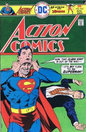 Action Comics (DC Comics - 1938) -453- Superman's Fantastic Face-Saving Feat!