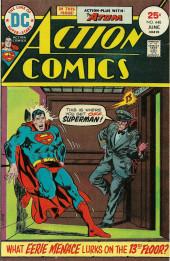 Action Comics (DC Comics - 1938) -448- What Eerie Menace Lurks on the 13th Floor?