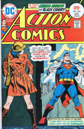 Action Comics (DC Comics - 1938) -446- Clark Kent Calling Superman... Clark Kent Calling Superman!