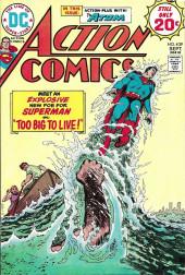 Action Comics (DC Comics - 1938) -439- Too Big to Live!