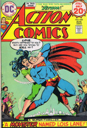 Action Comics (DC Comics - 1938) -438- A Monster Named Lois Lane!