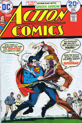 Action Comics (DC Comics - 1938) -431- The Monster Who Unmasked Superman!