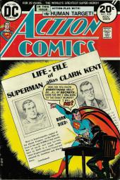 Action Comics (DC Comics - 1938) -429- The Man Who Wrote Superman's Obituary!