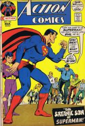 Action Comics (DC Comics - 1938) -410- The Satanic Son of Superman!