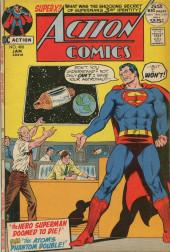 Action Comics (DC Comics - 1938) -408- The Hero Superman Doomed to Die!