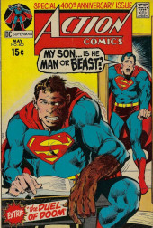 Action Comics (DC Comics - 1938) -400- My Son... Is He Man or Beast?