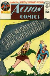 Action Comics (DC Comics - 1938) -395- A Girl Mightier Than Superman?