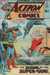 Action Comics (DC Comics - 1938) -392- The Shame of the Super-Son!