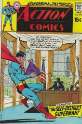 Action Comics (DC Comics - 1938) -390- The Self-Destruct Superman!