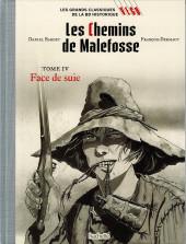 Les grands Classiques de la BD Historique Vécu - La Collection -41- Les Chemins de Malefosse - Tome IV : Face de suie