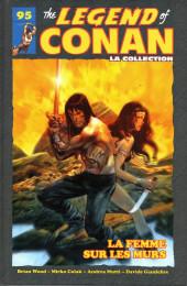The savage Sword of Conan (puis The Legend of Conan) - La Collection (Hachette) -9595- La Femme sur les Murs