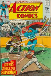 Action Comics (DC Comics - 1938) -389- The Kid Who Struck Out Superman!
