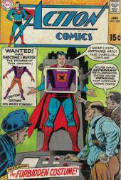 Action Comics (DC Comics - 1938) -384- The Forbidden Costume!