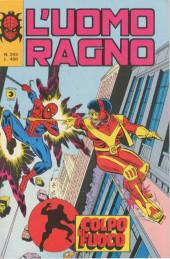 L'uomo Ragno V1 (Editoriale Corno - 1970)  -243- Colpo di Fuoco