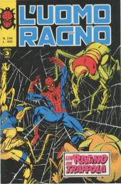 L'uomo Ragno V1 (Editoriale Corno - 1970)  -244- Un Ragno in Trappola