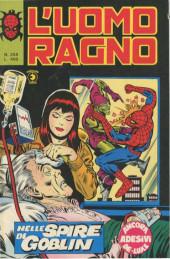 L'uomo Ragno V1 (Editoriale Corno - 1970)  -258- Nelle Spire di Goblin