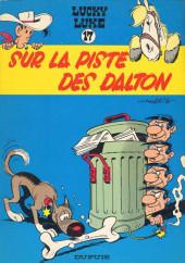 Lucky Luke -17b1969'- Sur la piste des Dalton
