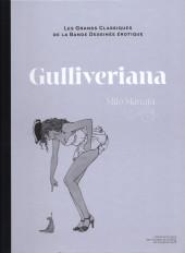 Les grands Classiques de la Bande Dessinée érotique - La Collection -133136- Gulliveriana