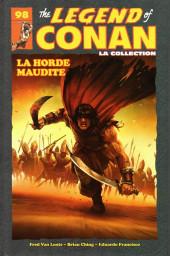 The savage Sword of Conan (puis The Legend of Conan) - La Collection (Hachette) -9823- La Horde maudite