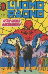 L'uomo Ragno V1 (Editoriale Corno - 1970)  -269- Peter Parker Laureato!