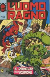 L'uomo Ragno V1 (Editoriale Corno - 1970)  -272- Il Risveglio dello Scorpione