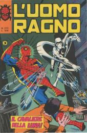 L'uomo Ragno V1 (Editoriale Corno - 1970)  -273- Il Cavaliere della Luna